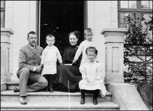 Niels Henrik David Bohr is born in Copenhagen, Denmark
