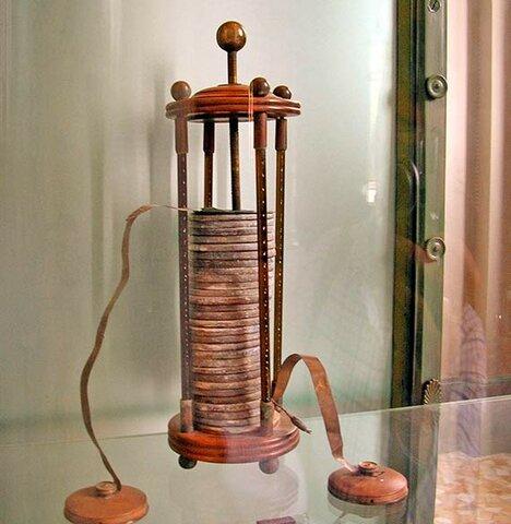 La pila eléctrica por Volta