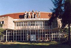La Academia de Música de Bogotá se vuelve el Conservatorio Nacional.