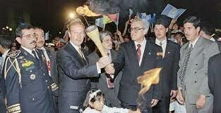 Llegó la finalización con la firma de los doce acuerdos de la paz.