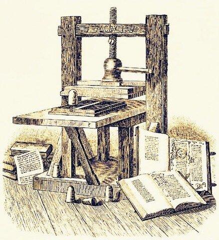 Surgimiento de la Imprenta