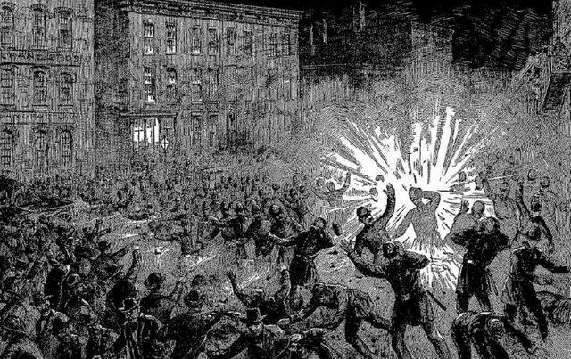 The Haymarket Square Tragedy