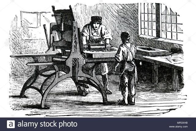 Se inventó la litogorafía.