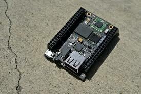 El miniordenador y el chip
