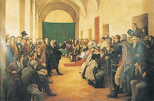 Debates del Cabildo Abierto.