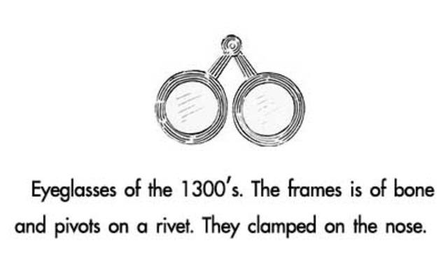First Artistic Depiction of Eyeglasses (Part 1/3)