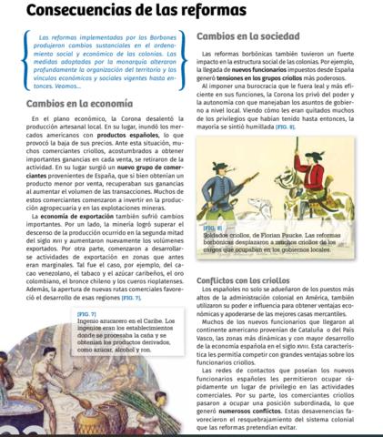 Reformas Borbónicas en el Río de la Plata. Descontento con el absolutismo español