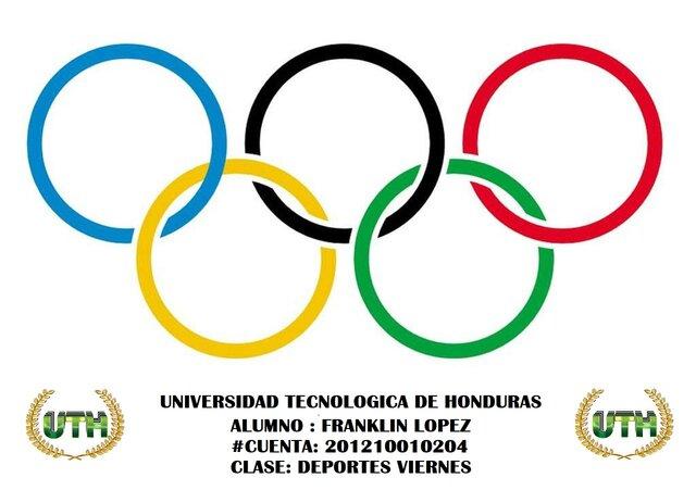 Linea De Tiempo De Los Juegos Olimpicos