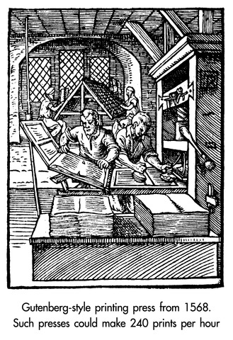 The father of modern-day literature (the printing press)Part4/4