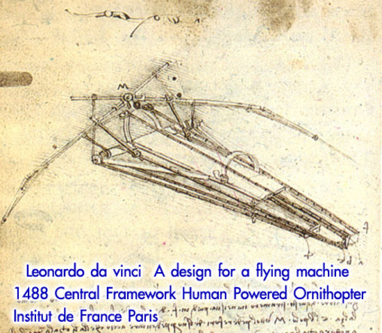 Flying Machines- Famous Inventions of Leonardo da Vinci(Part 3/3)