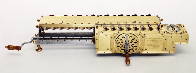 Máquina de multiplicar de Leibniz (1694)