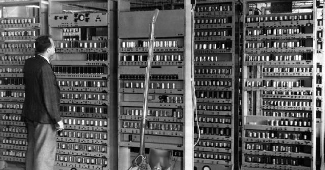 Primera generación de computadoras (1945-1956)