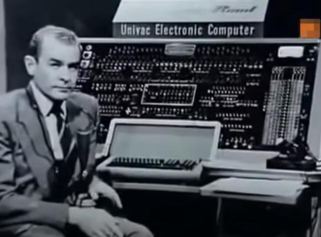 UNIVAC predijo quien iba a ser el presidente