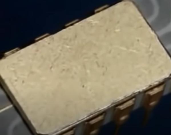 Inicios del chip de silicio