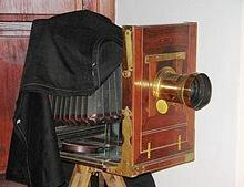 Primera cámara fotografica