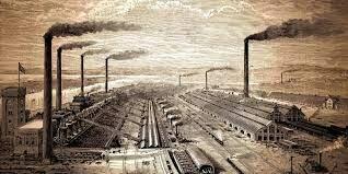 Llegada de la revolucion industrial