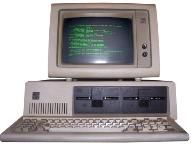 """IBM Lanza el """"PC"""""""