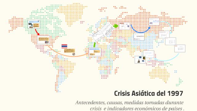 La crisis de las naciones del sureste Asiático