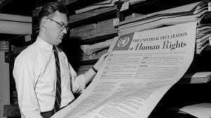 Declaración Universal de los Derechos Humanos en 1948