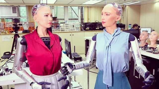 Robot inteligente Sophie