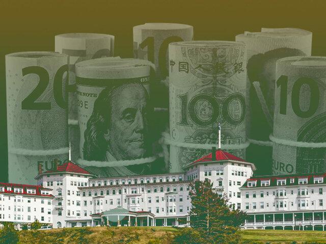 El patrón de moneda de reserva y La desintegración del sistema de Bretton Woods.