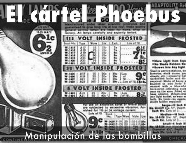 Cartel de Phoebius y Obsolescencia Programada