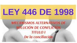 Ley 446 de 1998 -