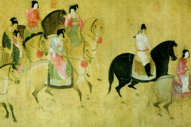 China: Dinastía Tang.