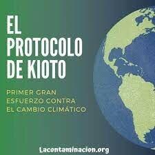 PROTOCOLO DE KIOTO SOBRE EL CAMBIO CLIMATICO
