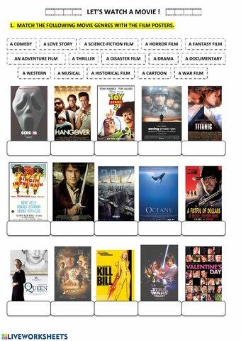 WEEK ONE: Types of Films