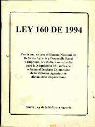 Ley 160 de 1994