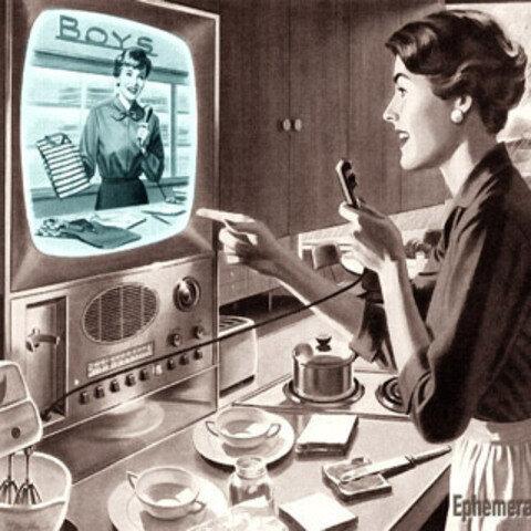 Publicidad en Televisión- 1954