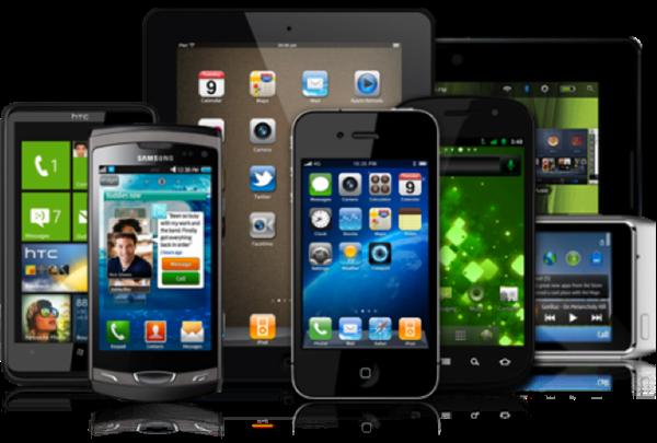 Nuevas tecnologías: Tablets, celulares con internet.-2012