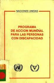 7- Naciones Unidas aprobaron el programa de accion mundial para personas con discapacidad.