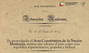 Acta Constitutiva de la Federación