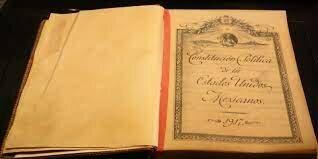 Constitucion Politica de los Estados Unidos Mexicanos.