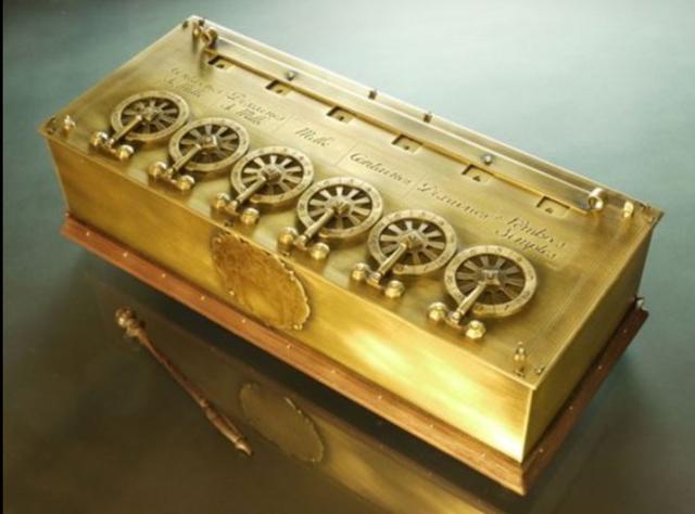 La calculadora de Pascal