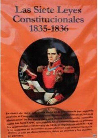 Las Siete Leyes de 1836