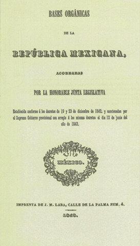Las Bases Orgánicas de 1843