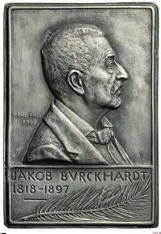 Jacob Burckardt 1818 - 1897