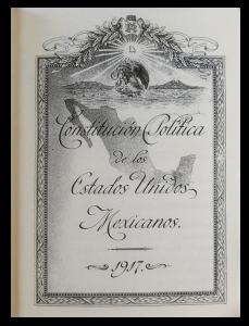 Constitución Política de los Estados Unidos Mexicanos que reforma la del 5 de febrero de 1857