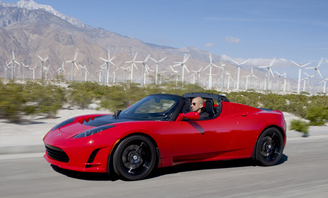 2006 - Tesla Roadster.