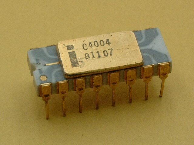 Intel 4004 el primer microprocesador