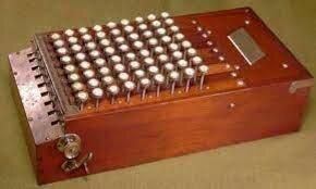 La primera calculadora de producción masiva