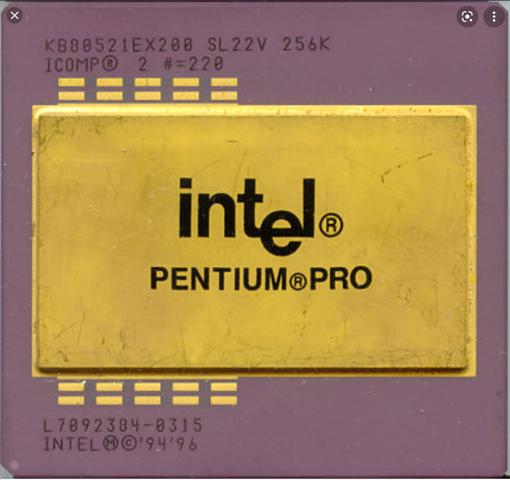 Pentium pro de Intel