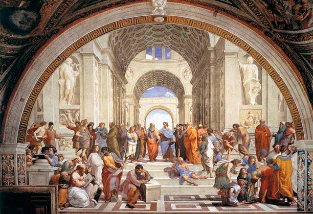 Aristóteles y su escuela