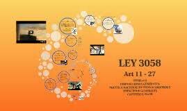 LEY 3058