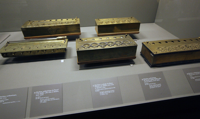 Blaise Pascal's mechanical calculator(Part 2/3)