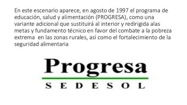 Nacimiento de progresa