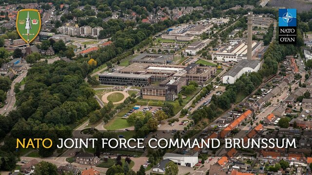 Stationed in the Netherlands